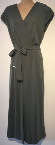 DUNNES KHAKI WIDE LEG BELTED JUMPSUIT NEW SIZES 12, 16 & 18